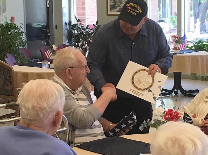 Galesburg Register Mail: Elks lodge presents KCNH veterans